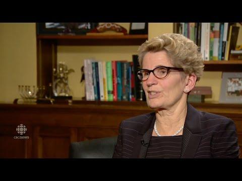 Ontario Premier Kathleen Wynne CBC 2015 Year-end Interview
