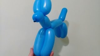Собачка из шарика. Как сделать собачку из шариков