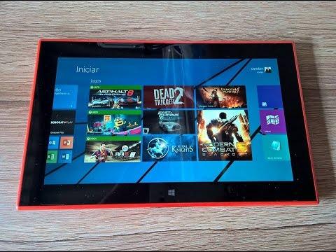 Teste 11 Jogos Pesados Nokia Lumia 2520 / Melhores Games para Windows 8.1