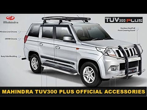 Official Accessories For Mahindra TUV300 Plus Revealed
