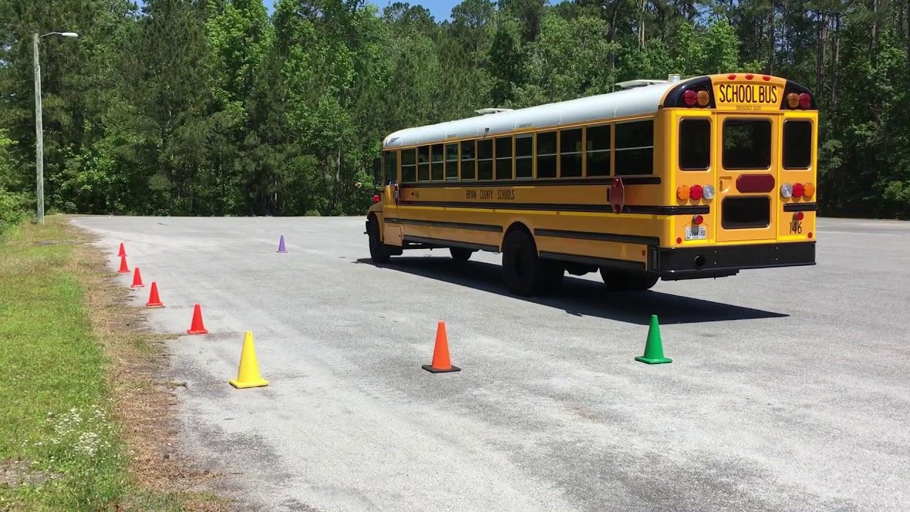 55  Skills  U2013 Parallel Parking    Driver Side  U2013 Class B Cdl School Bus