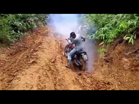 Aceh trail bike