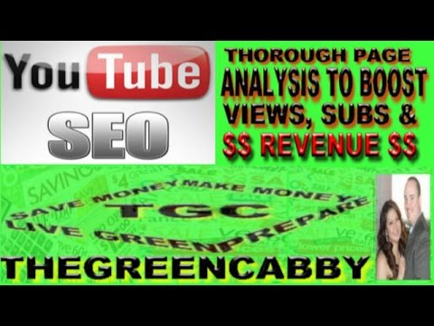 GIVE YOU YOUTUBE SEO PAGE ANALYSIS INCREASE SUBS VIEWS WATCH TIME & REVENUE - GIG US ON FIVERR - 동영상