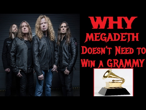 WHY Dave Mustaine and MEGADETH Don't Need To Win A Grammy