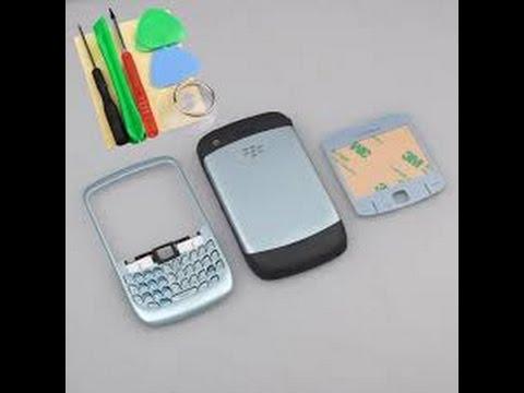Cambiar carcasa de BlackBerry 8520