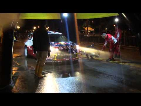 WRC Argentina - Wash, Check & Press Stop