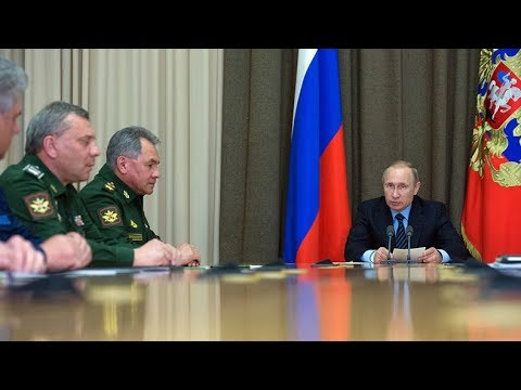 Thumbnail: We got 'em? Putin says ISIS almost down