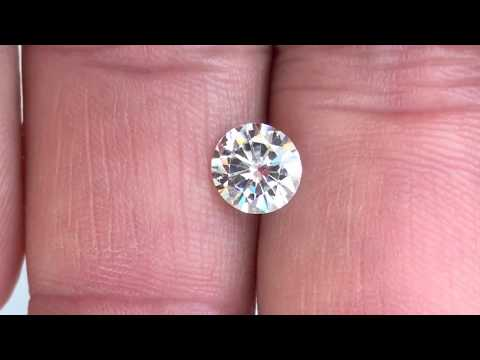 Forever One Moissanite Near Colorless Round Brilliant Cut at AfricaGems