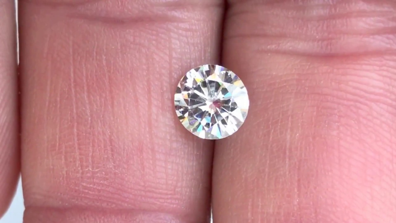 color ghi diamond forever item moissanite h colorless cut i near g one stone oval loose