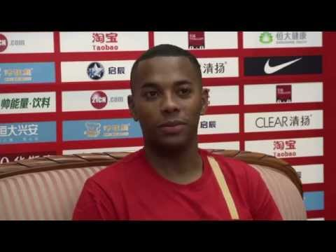 Robinho unveiled in China