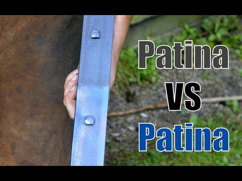 Patina VS Patina (Prepping Metal and Applying Patina to Metal with a Heat Patina Finish)