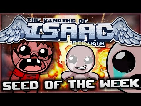 The Binding of Isaac: Rebirth - Seed of the Week: Ultimate Divine Power!