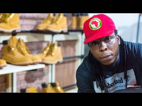 Edem - Opens 'The Timberland Shop' in Ghana | Ghana Music.com Video