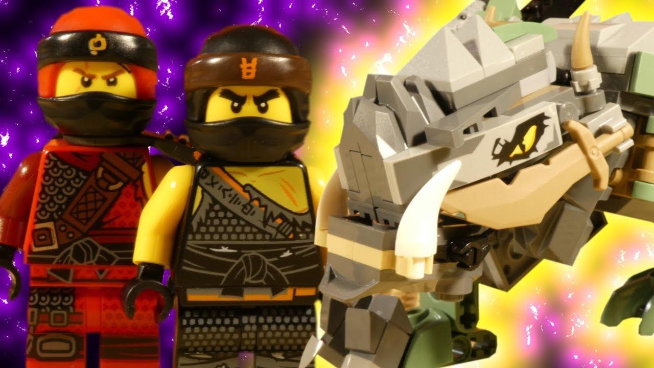 LEGO NINJAGO HUNTED - EARTH DRAGON RUMBLE