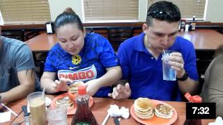 Golden Corral 1st Annual Fathers Day Pancake Eating Contest