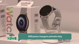 AliExpress inaugura primeira loja