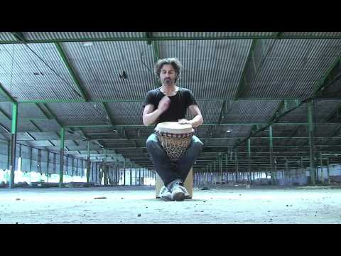 djembe grooves and solos by Christian Dehugo (drummo)
