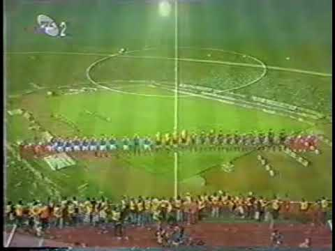 Yugoslavia vs Spain 1997 - Anthem Yugoslavia