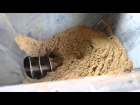 Песок, Питатель шнековый, ПШ-150