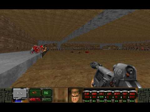 Psychophobia (Doom II wad): All new Monsters (1/3)