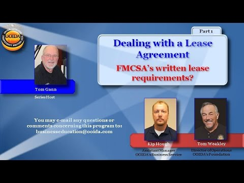 Lease Agreement Part 1