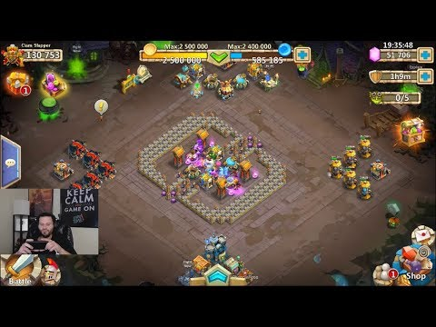 Rolling 50k Hero Collector Halloween Need BOGEY Castle Clash
