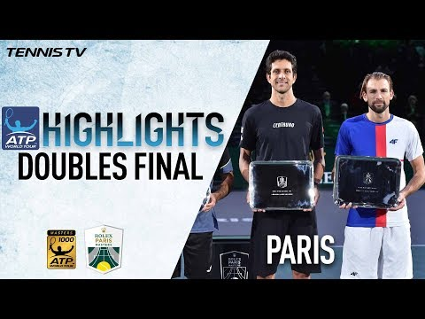 Doubles Highlights: Kubot/Melo Win Third Masters 1000 Title Of 2017 In Paris