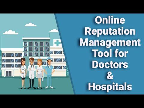 Online Reputation Management Tool for Doctors & Hospitals