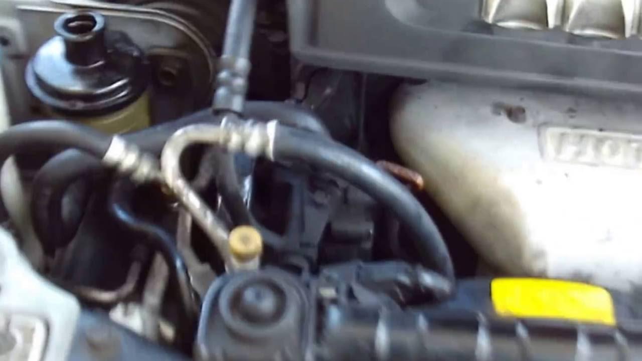 2002 Hyundai Sonata Power Steering Return Hose Line Repair
