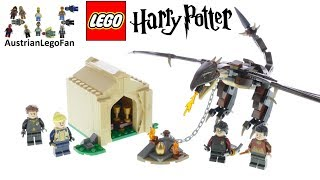 Lego Harry Potter 75946 Hungarian Horntail Triwizard Challenge - Lego Speed Build Review