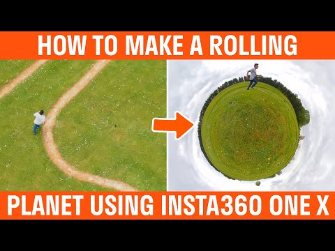 How To Make A Rolling Tiny Planet Video With The Insta360 One X