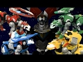 Voltron Legendary Green Blue Yellow And Red Lion From Playmates Toys mp3