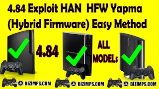 YENİ PS3 4.84 Exploit HEN Yapma HFW (Hybrid Firmware) 4.84.1 HAN SETUP - TÜM Modellerde - PART 1