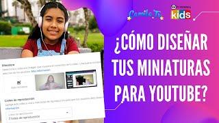 4  Crear miniatura para portada de video de Youtube