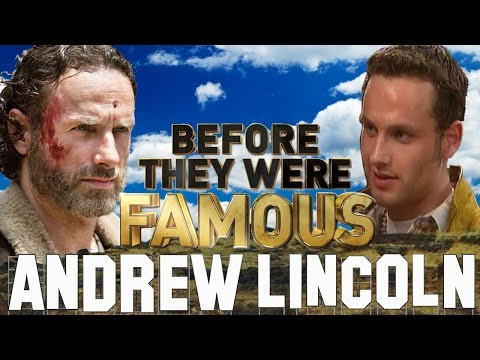 ANDREW LINCOLN  Before They Were Famous  The Walking Dead
