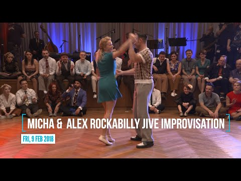 Video RTSF 2018 - Micha & Alex Rockabilly Jive Improvisation