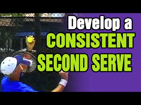 Tennis - How To Develop A Consistent Second Serve | Tom Avery Tennis 239.592.5920