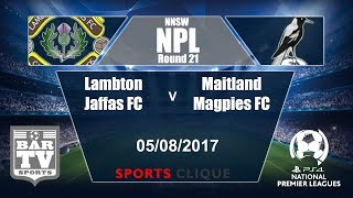 Lambton Jaffas FC vs Maitland full match