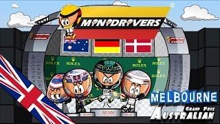 [ENGLISH] MiniDrivers - Chapter 6x01 - 2014 Australian Grand Prix