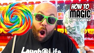 7 CANDY MAGIC TRICKS!