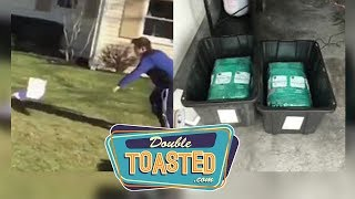 BOY IS BULLIED BY MOTHER NATURE, AMAZON PACKAGE CONTAINS 65 LBS OF WEED - Double Toasted