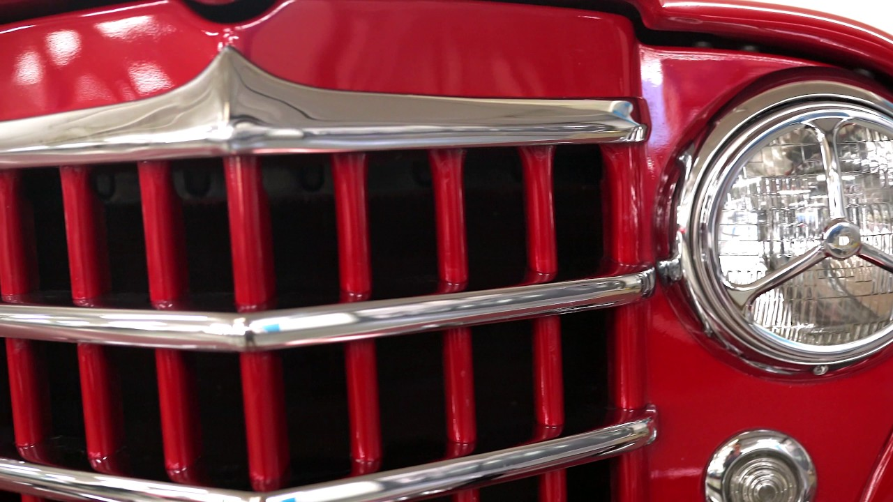 1951 Willys Jeepster For Sale Startup Walkaround Youtube
