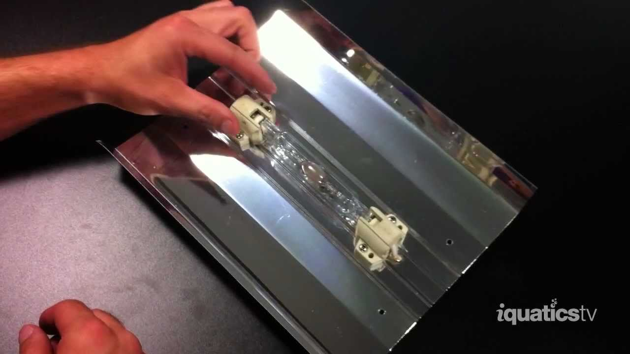Replacing your iQuatics 70w  150w Double Ended Halide