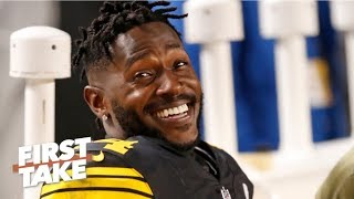 Antonio Brown to blame for most of Steelers' drama - Max Kellerman l First Take