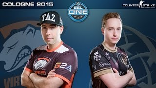 CS:GO - Virtus.Pro vs. NiP [Train] - ESL One Cologne 2015 - Quarterfinal Map 1