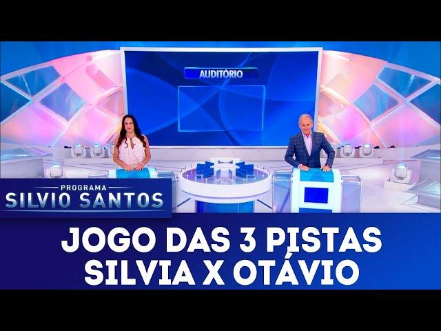 Jogo das 3 Pistas - Silvia Abravanel X Otávio Mesquita | Programa Silvio Santos (10/03/19)
