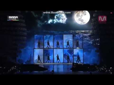 141203 EXO - Black Pearl & Tell me what is love @2014 MAMA