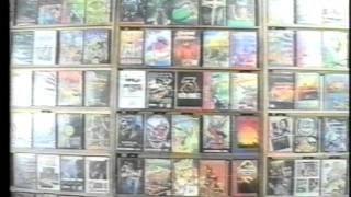 Реклама магазина компьютерных игр. Харьков, 1995 год.(Реклама магазина компьютерных игр