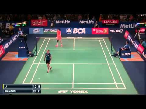 2015 BCA Indonesia Open R32 [WS] LI Xuerui vs Kirsty GILMOUR (Sports)