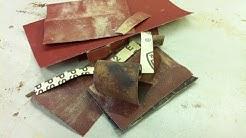 Astuce papier de verre - Travail du bois !